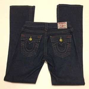 """True Religion  """"Becky"""" Boot Cut Jeans Size 26"""